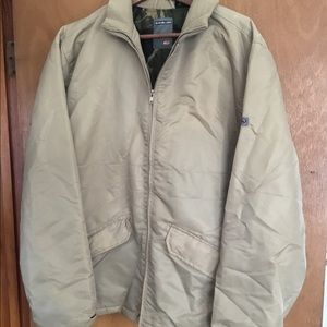 Quicksilver Men's Insulated Bomber Jacket Size Lrg